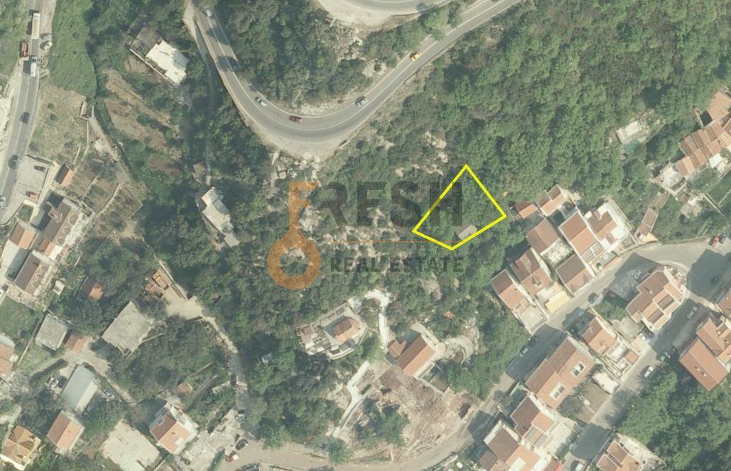 Plac, 524m2, Bećići, Budva, Ucrtan objekat BGP 1423m2, Prodaja 1
