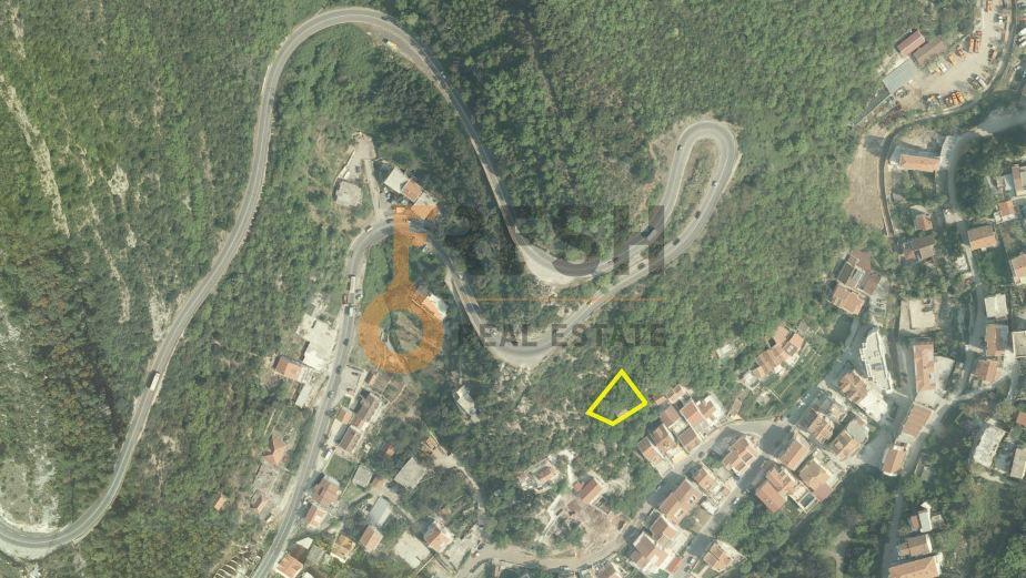Plac, 524m2, Bećići, Budva, Ucrtan objekat BGP 1423m2, Prodaja - 1