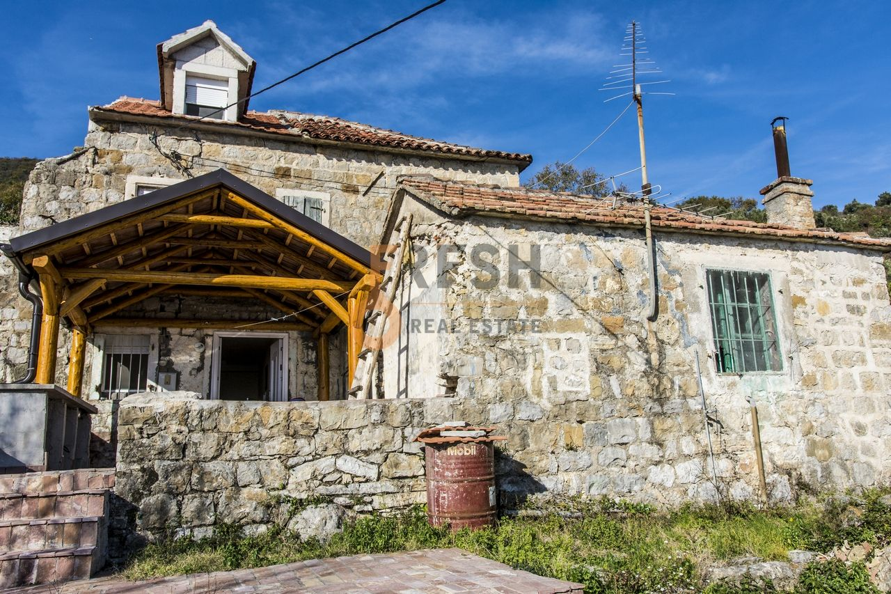Kamena kuća sa pogledom na more, Bijela, Herceg Novi, Prodaja - 1