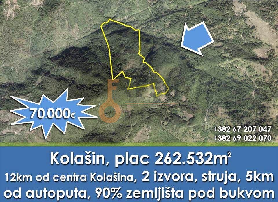 Plac 252532m2, Kolašin, Prodaja 1