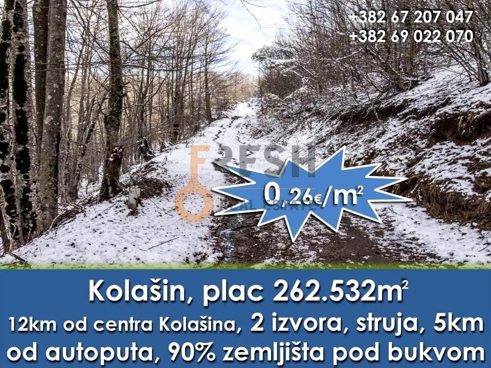 Plac 252532m2, Kolašin, Prodaja - 0