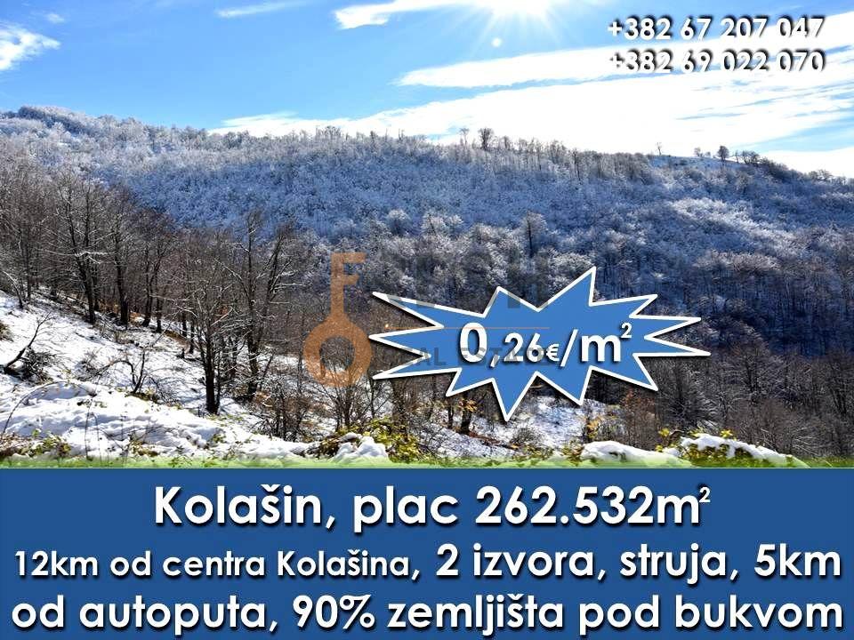Plac 252532m2, Kolašin, Prodaja - 2