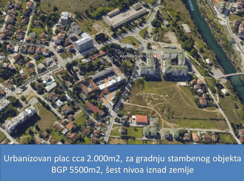 Plac za gradnju stambenog objekta, BGP cca 5.500m2, Zagorič, Prodaja - 1