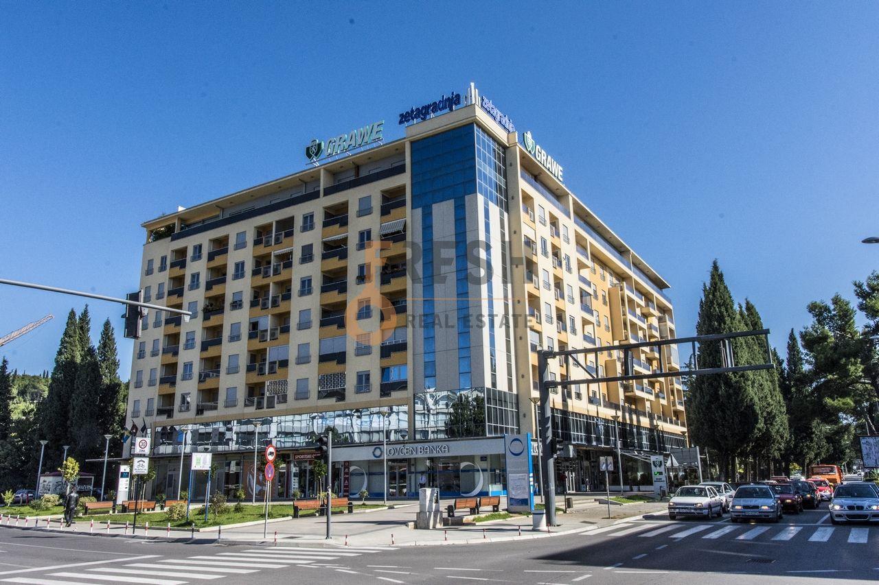 Poslovni prostor, 200m2, Centar, zgrada Zetagradnja, Prodaja - 1