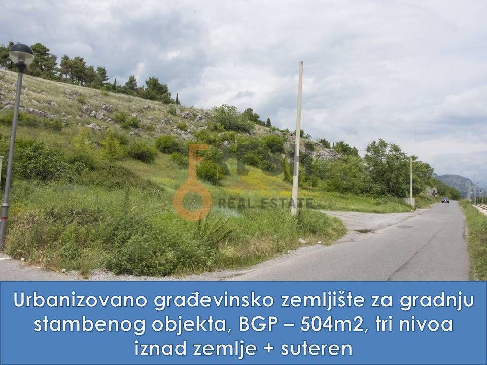 Urbanizovan plac za gradnju porodičnog stambenog objekta, Gorica C - 1