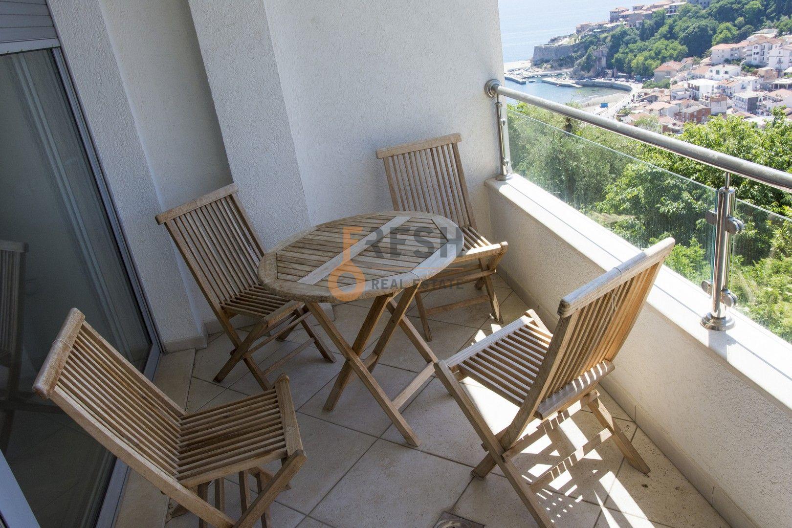 Jednosoban stan sa pogledom na more, 72m2, Ulcinj, Prodaja - 4