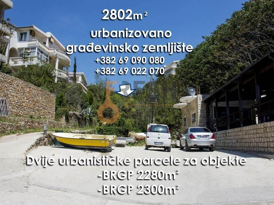 Urbanizovano građevinsko zemljište na prvoj liniji do mora, Ulcinj - 1