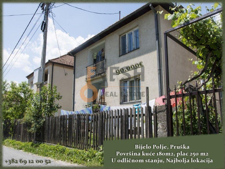 Kuća, 180m2, Bijelo Polje, Pruška, Prodaja - 1