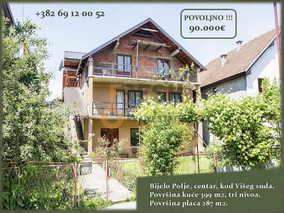 Kuća, 399m2, Bijelo Polje, Prodaja - 1