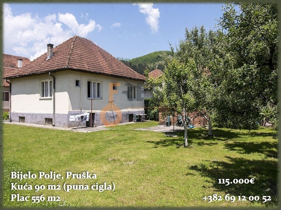 Kuća, 80m2, Pruška, Bijelo Polje, Prodaja - 1