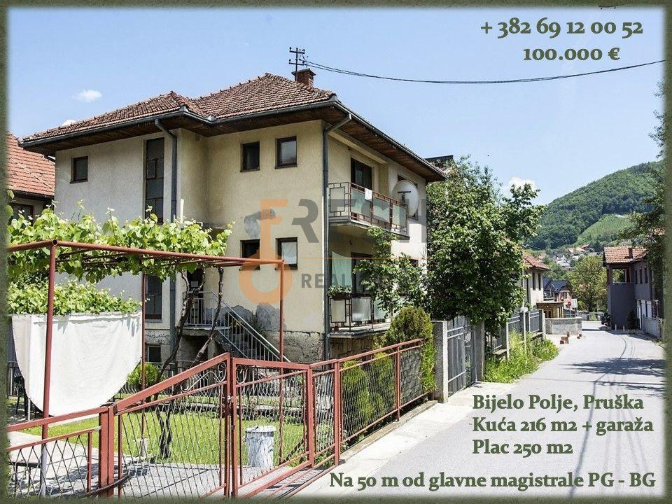 Kuća, 216m2, Bijelo Polje, Prodaja - 1