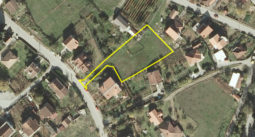 Urbanizovan plac za gradnju kuce, 1558 m2, Masline, Prodaja - 1