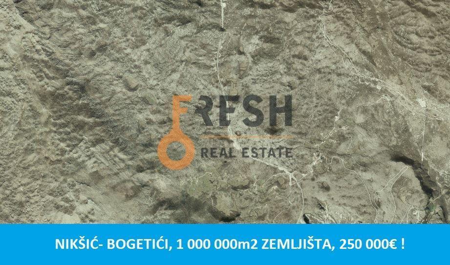 Zemljište, 1 000 000m2, Nikšić- Bogetići, Prodaja - 1