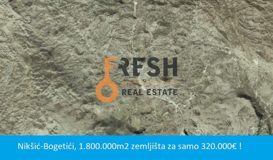 Zemljište, 2 000 000m2, Nikšić- Bogetići, Prodaja - 1