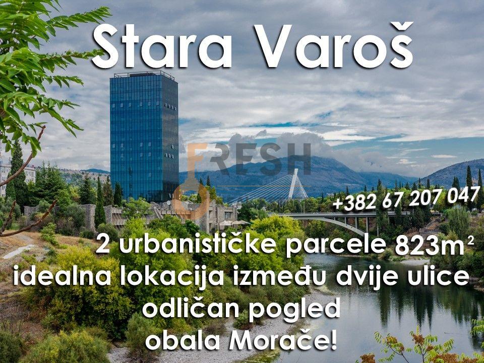 Dvije urbanizovane parcele, 823m2, Stara Varoš, Prodaja - 1