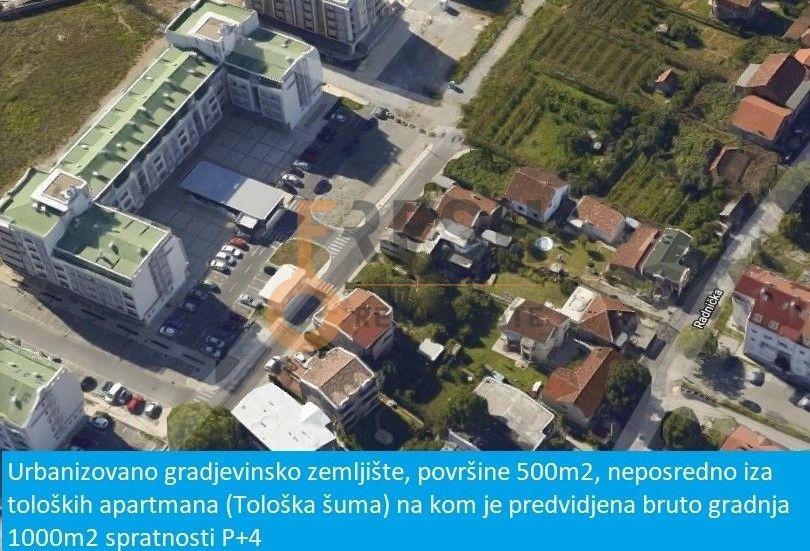 Urbanizovano gradjevinsko zemljište, 500m2, Tološi, Prodaja - 1