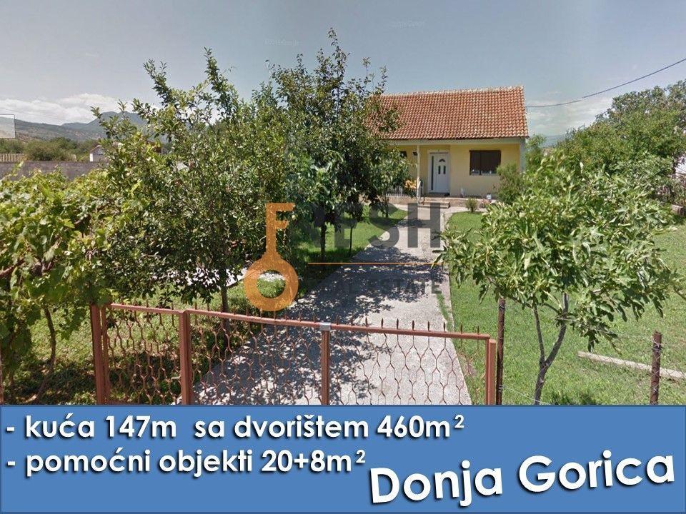 Kuća 147m2 sa dvorištem od 460m2, Donja Gorica, prodaja - 1