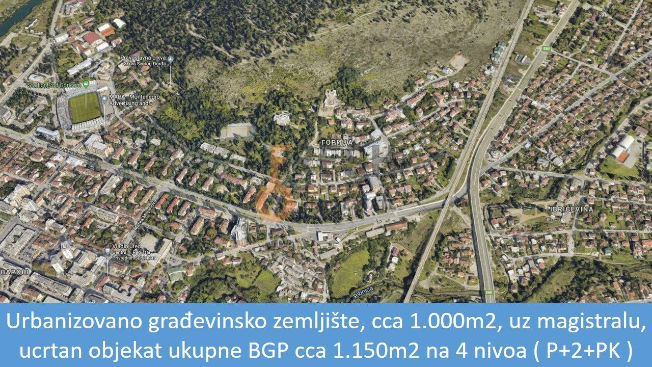 Urbanizovano građevinsko zemljište, 1.000m2, Masline, Prodaja - 1
