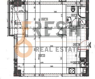 Jednosoban stan, 42.84m2, Budva, Prodaja - 2