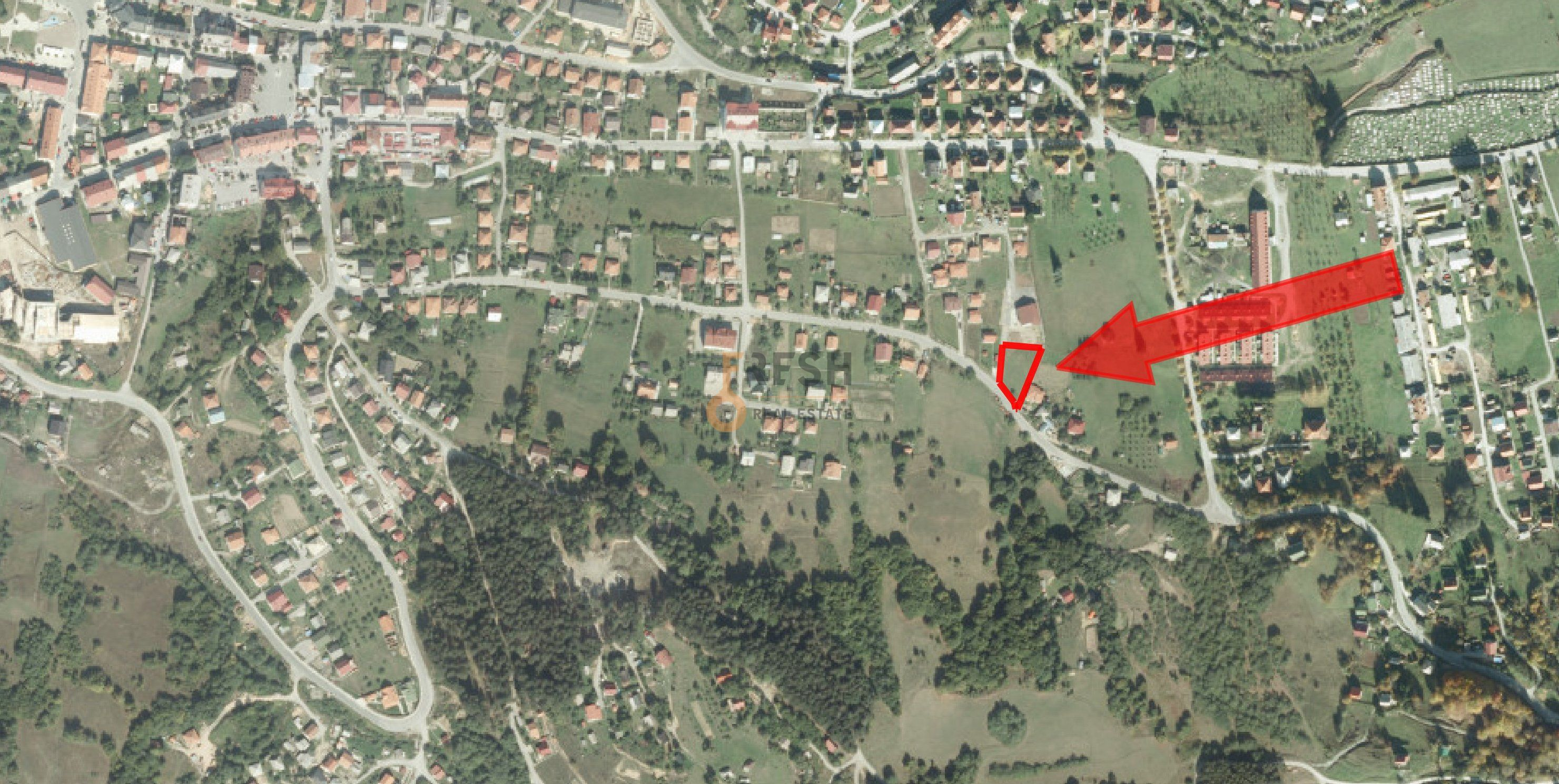 Urbanizovani plac, 1011m2, Kolašin, Prodaja - 1