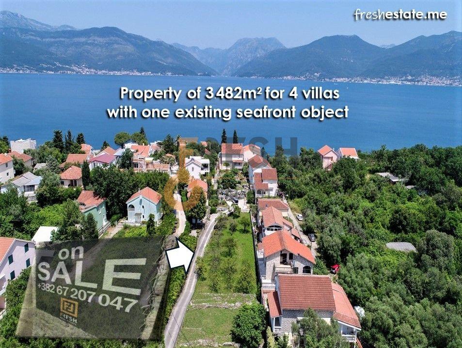 Krašići, zemljište za 4 vile i kuća na obali, Prodaja - 2