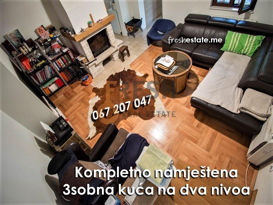 Kompletno opremljena kuća na vrhunskoj lokaciji, Cetinje, Prodaja - 1