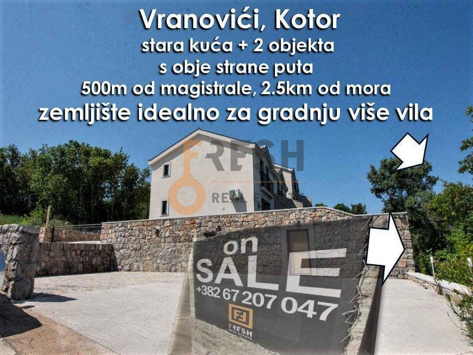 Stara kuća i zemljište, pogled na Tivat, na putu ka Bigovi, Prodaja - 2