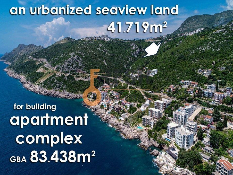 Urbanizovano gradjevinsko zemljište, 41.719m2, Dobra Voda, Prodaja - 1