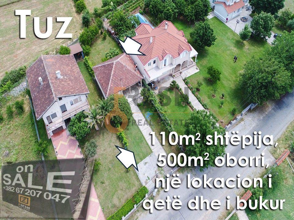 Kuća 110m2 sa dvorištem 500m2, Tuzi, Prodaja - 1
