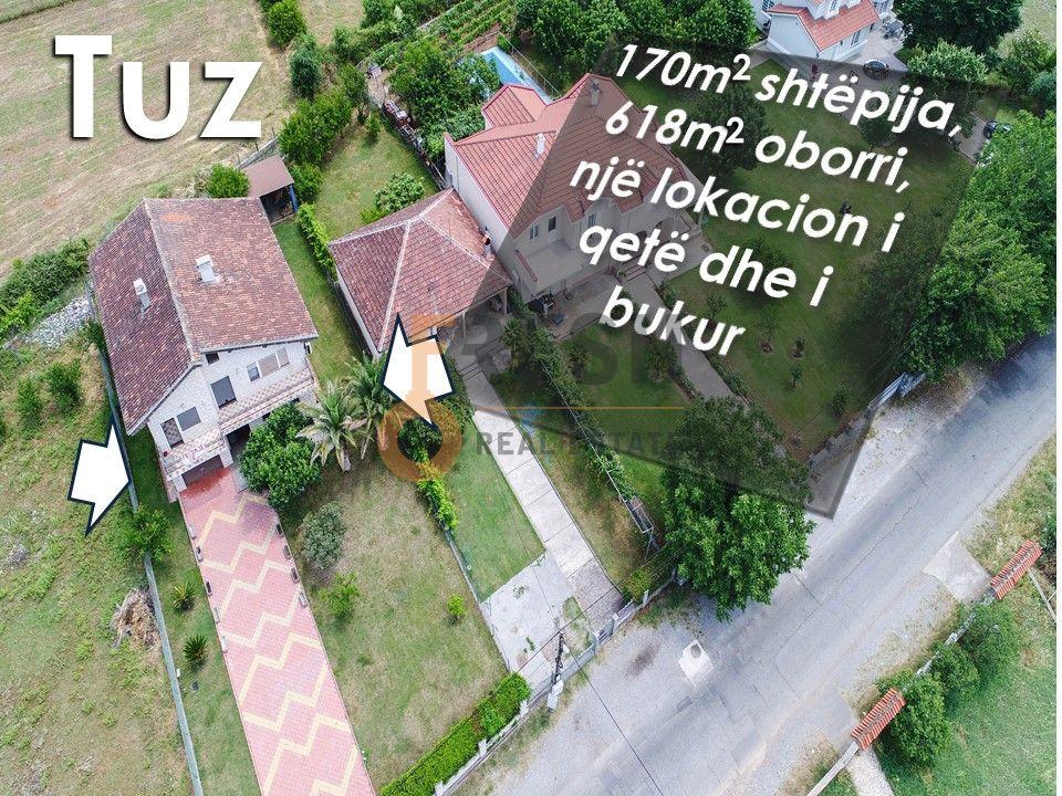Kuća 170m2 sa dvorištem 618m2, Tuzi, Prodaja - 1
