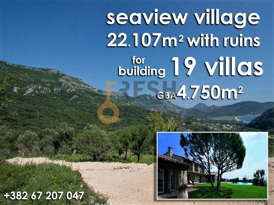 Selo na prodaju, 22107m2, Petrovac, unikatni projekat za gradnju 19 vila 1
