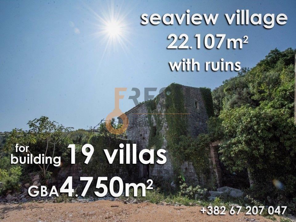 Selo na prodaju, 22107m2, Petrovac, unikatni projekat za gradnju 19 vila - 2