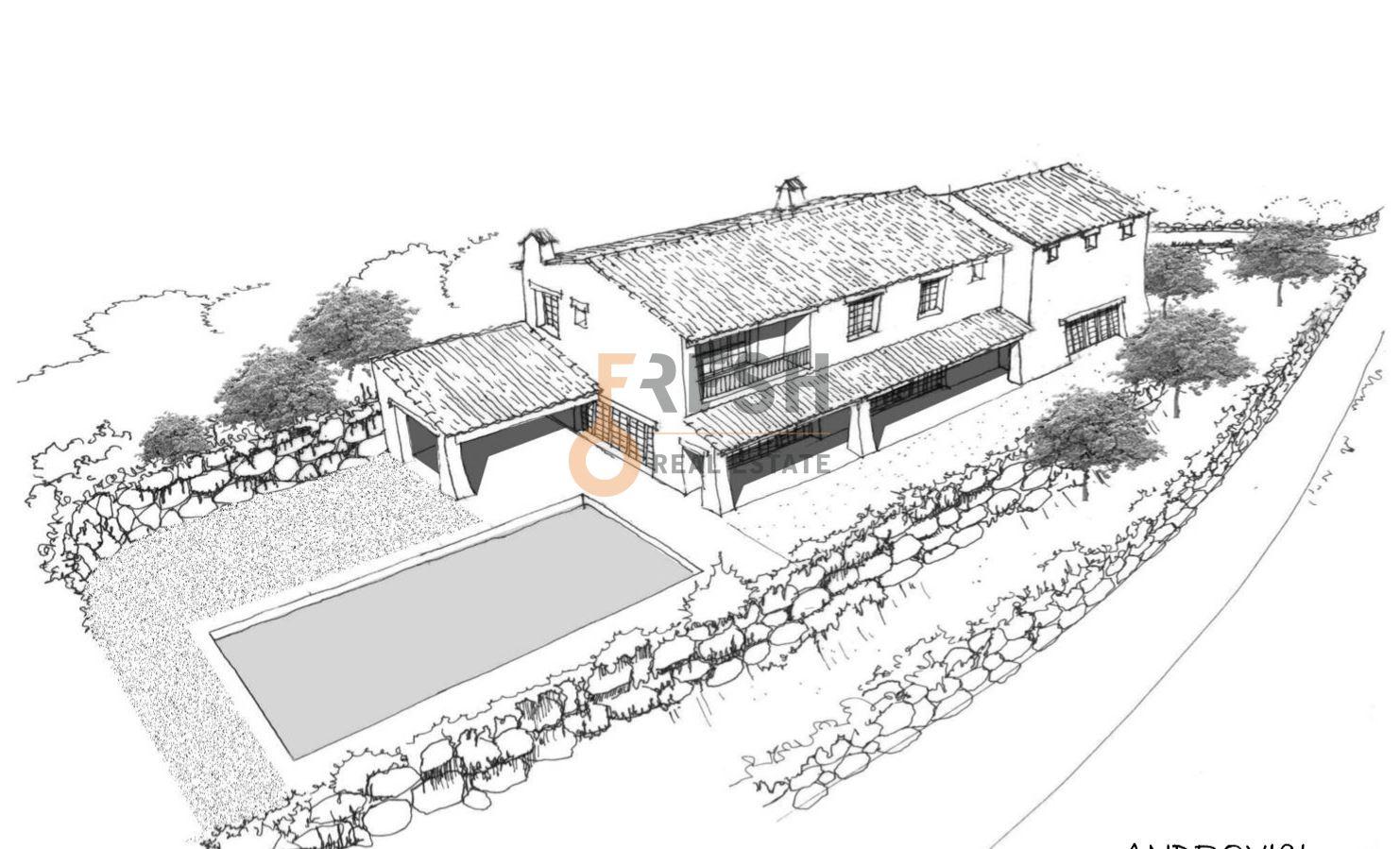 Selo na prodaju, 22107m2, Petrovac, unikatni projekat za gradnju 19 vila - 24