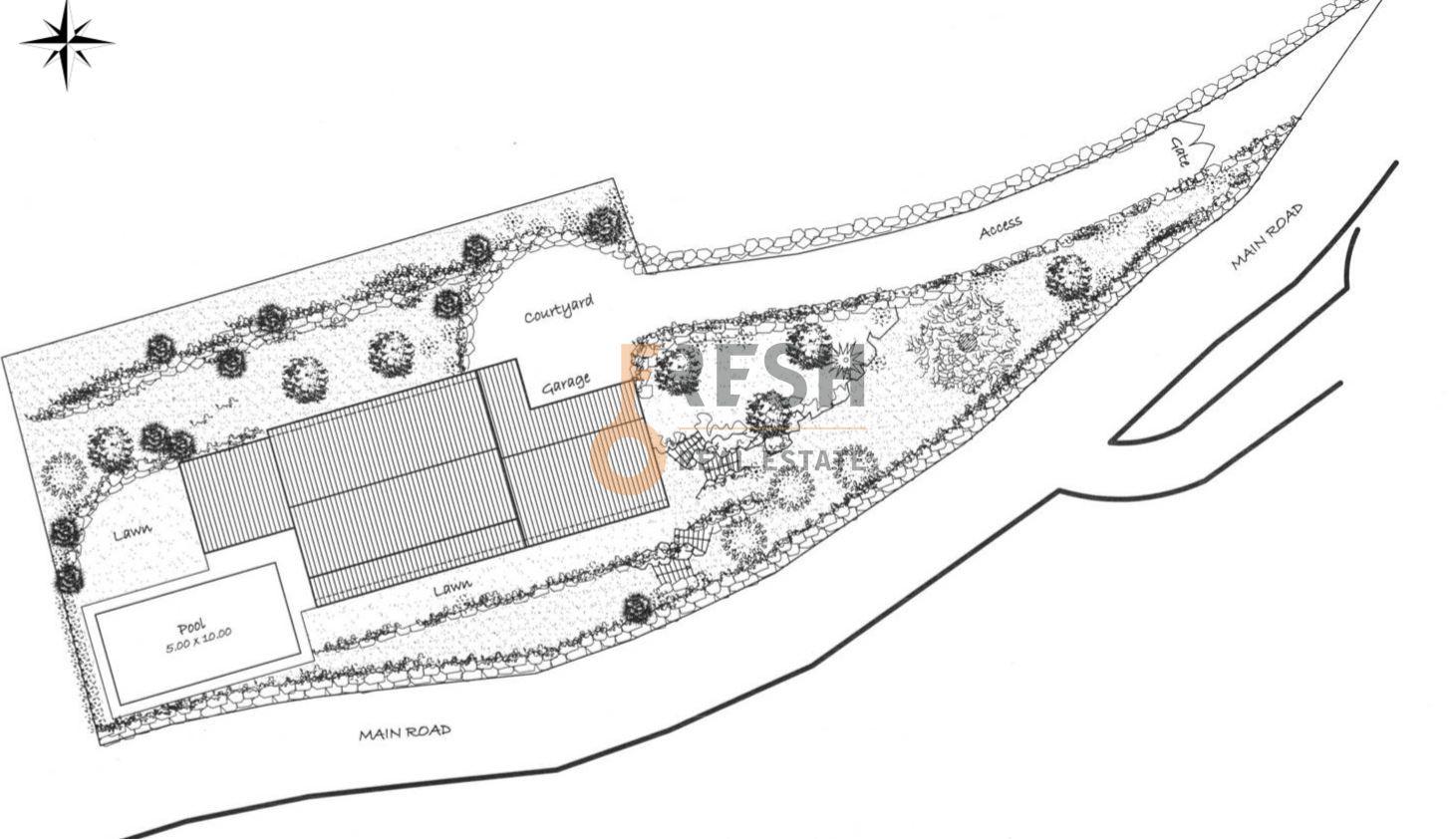 Selo na prodaju, 22107m2, Petrovac, unikatni projekat za gradnju 19 vila - 26