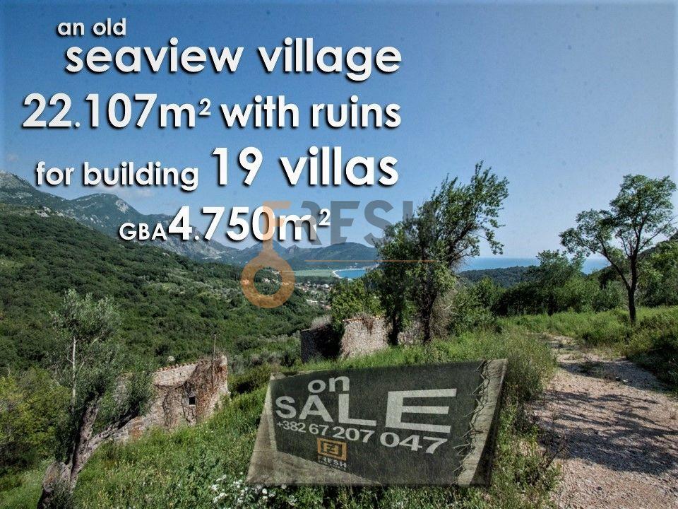 Selo na prodaju, 22107m2, Petrovac, unikatni projekat za gradnju 19 vila - 1