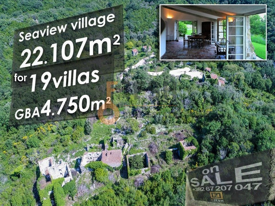 Selo na prodaju, 22107m2, Petrovac, unikatni projekat za gradnju 19 vila - 4