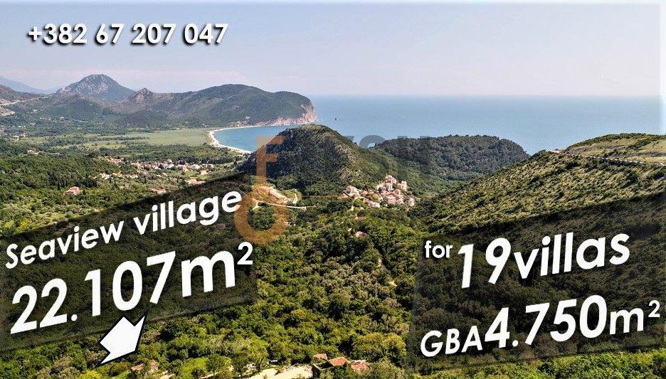 Selo na prodaju, 22107m2, Petrovac, unikatni projekat za gradnju 19 vila - 3