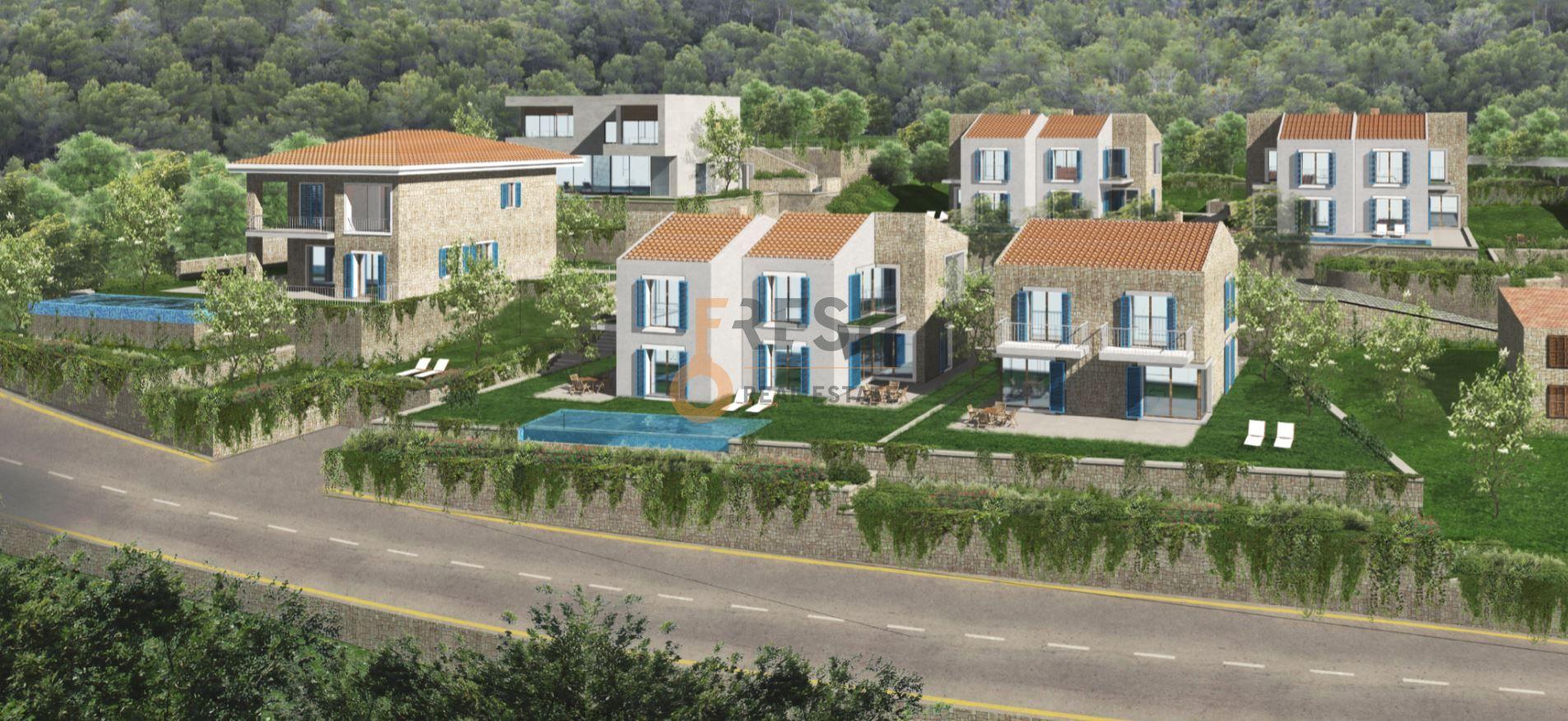 Reževići, urbanizovano zemljište za 4 vile, 3157m2,  ispod cijene! - 9