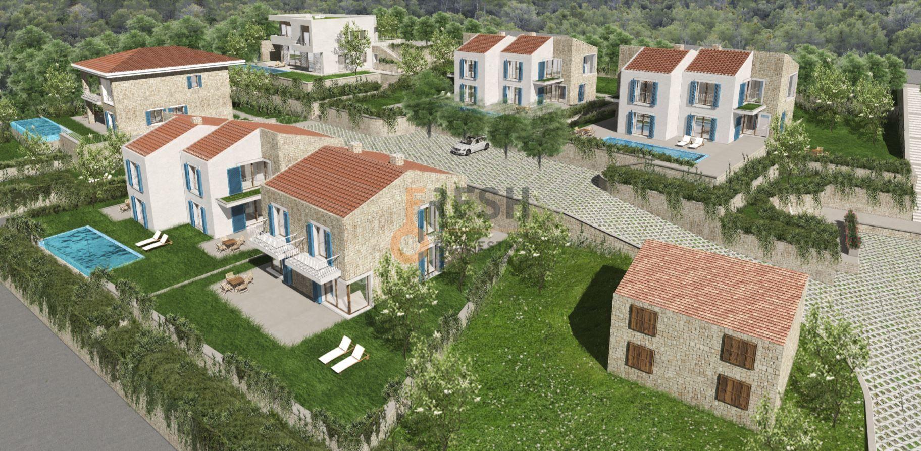 Reževići, urbanizovano zemljište za 4 vile, 3157m2,  ispod cijene! - 10
