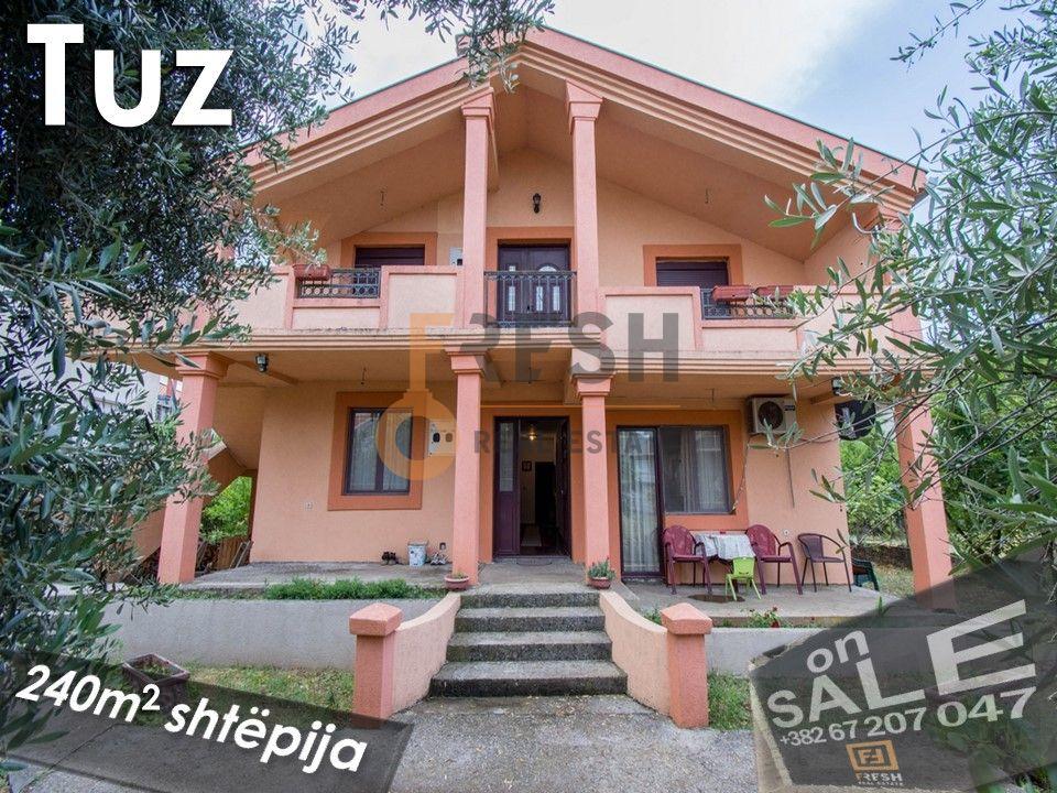 Karabuško polje, Tuzi, Kuća 240m2 i dvorište 1040m2 - 1