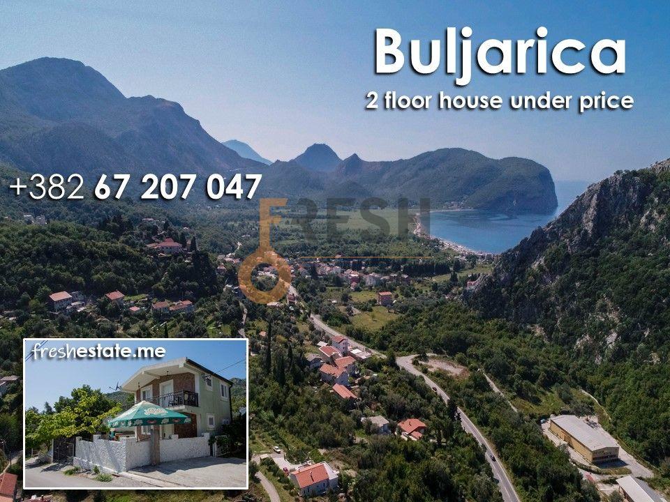 Kuća 80m2 na dva nivoa, Buljarica - 1