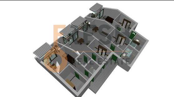 Kuca s pogledom na more i svojim dvoristem i bastom, 178 m2, Centar, Herceg Novi, prodaja - 14