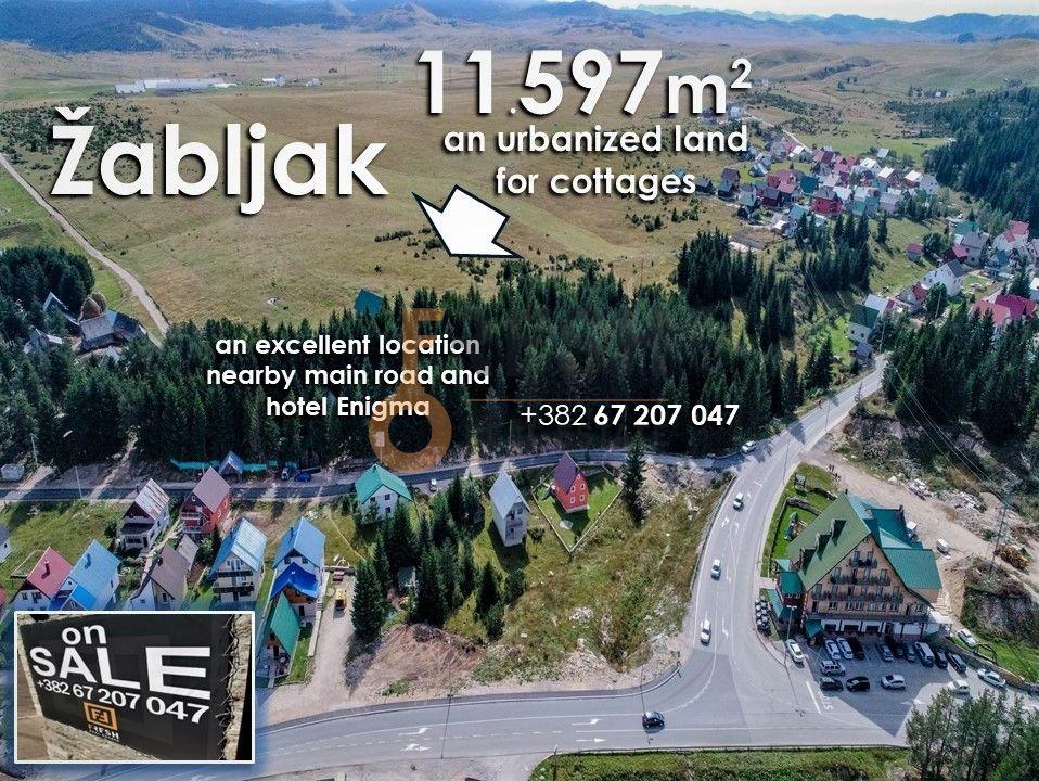 Urbanizovano građevinsko zemljište 11597m2 Žabljak - 1