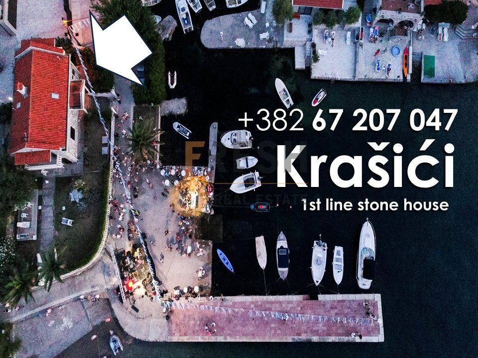 Kamena kuća na unikatnoj lokaciji, prva linija uz more, Krašići, Tivat - 1