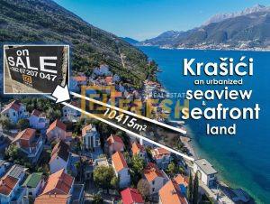 Urbanizovano zemljište i plaža, 10415m2, Krašići, Tivat - 1