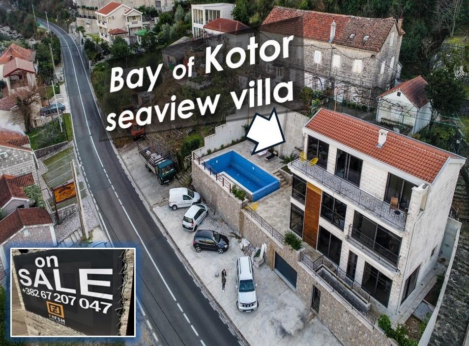 Plac uz more 289m2 + vila, Kostajnica, Kotor - 8
