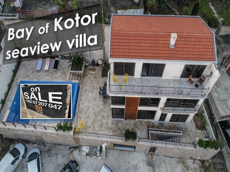 Plac uz more 289m2 + vila, Kostajnica, Kotor - 9