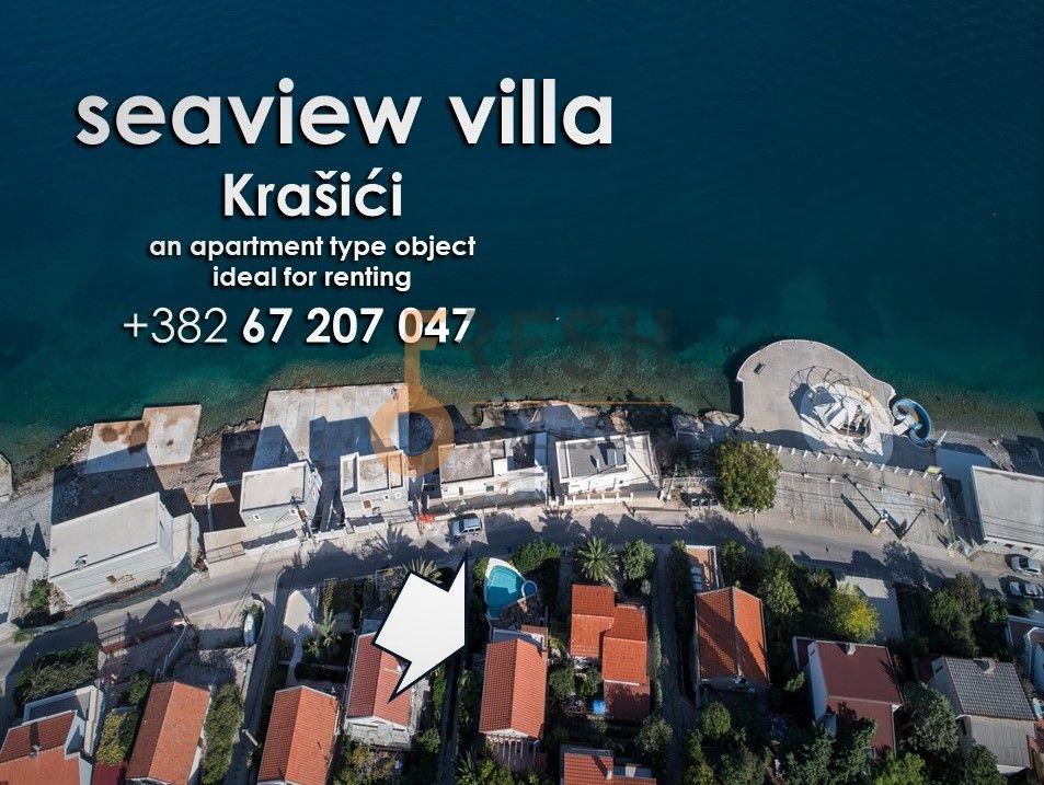Vila 239m2 na prvoj liniji iznad puta, Krašići - 1