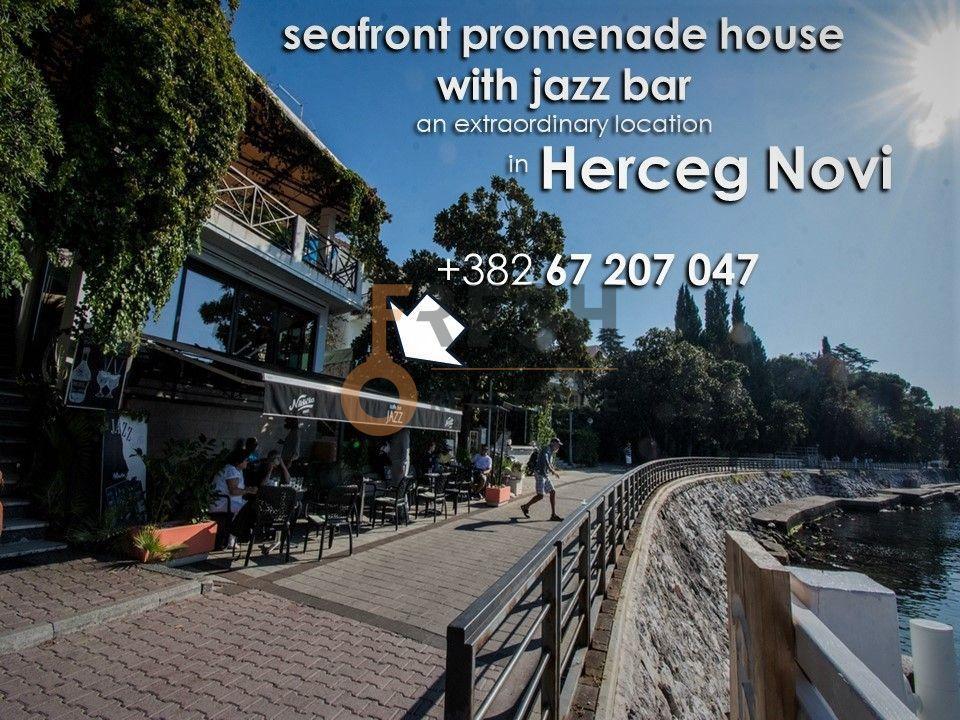 Razrađeni biznis na prodaju, Jazz bar i kuća na šetalištu, Herceg Novi 1