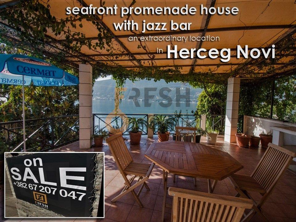 Razrađeni biznis na prodaju, Jazz bar i kuća na šetalištu, Herceg Novi - 1
